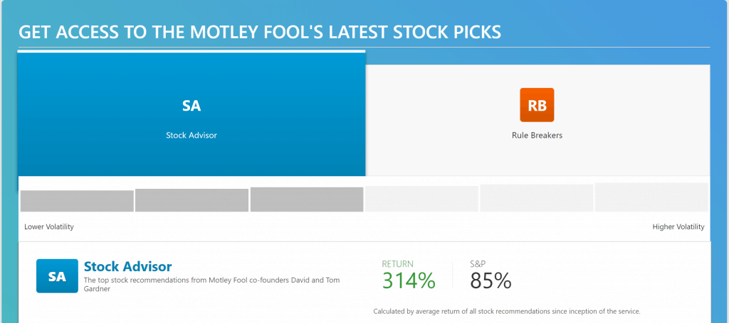 motley fool rule breakers sign up