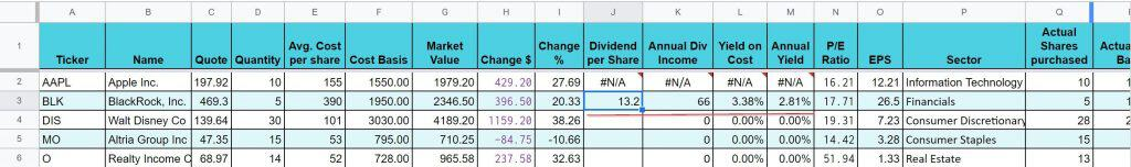 get dividend success