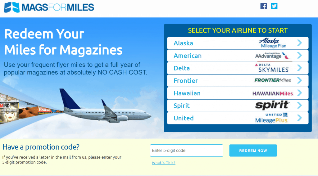 select airlines to use for wsj subscription