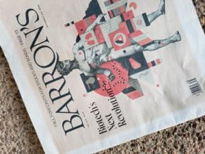 barron's subscription issue in my mailbox